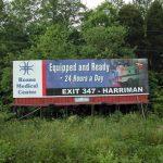 billboard for lease targets Crossville, Cookeville and Nashville