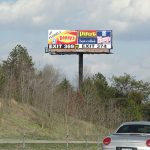 This billboard for lease Knoxville Tn area