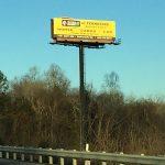 billboard for lease in the Harriman, Kingston, and Crossville markets.
