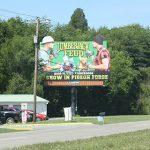 Sevierville Billboard for lease