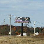 Billboard Morristown for lease