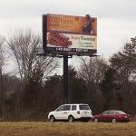 Gatlinburg Pigeon Forge Sevierville Interstate Billboard for lease