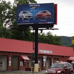 Billboard for lease Rockwood