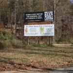 Bill board for lease Gatlinburg