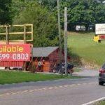 Billboard for lease Gatlinburg