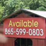 Billboard for lease, Pigeon Forge TN