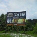 Billboard for lease Jellico