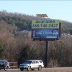 Billboard for lease